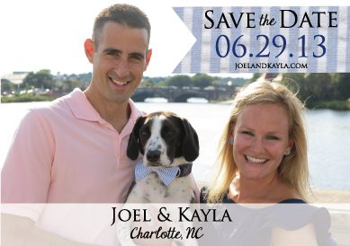 Joel and Kayla Save the Date